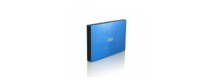 Cajas externas para disco 2.5' y 3.5'