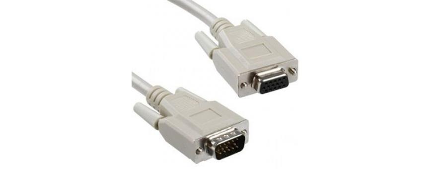 Alargadores VGA - DVI - Displayport