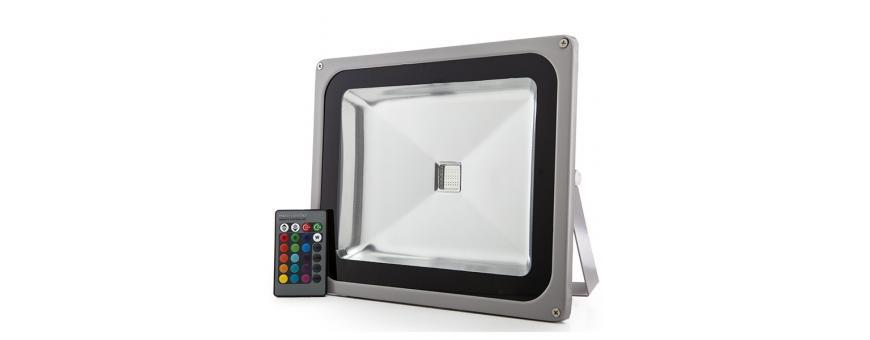 Focos Proyectores LED RGB