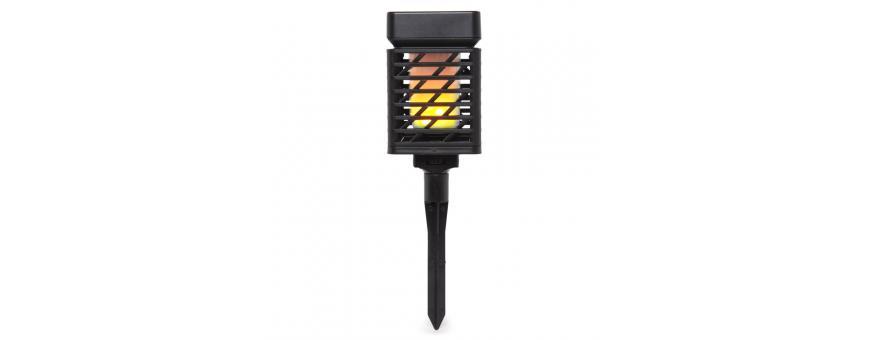 Iluminación LED Solar para Exteriores