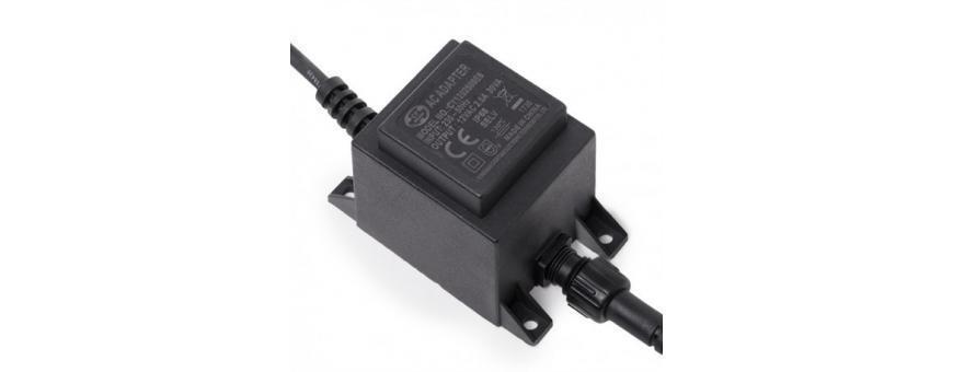 Transformadores 12 y 24VAC para LEDs