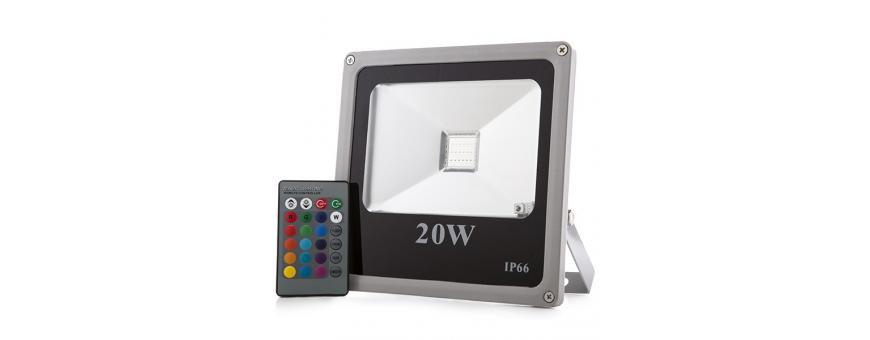 Focos Proyectores LED Exterior ECOLINE RGB