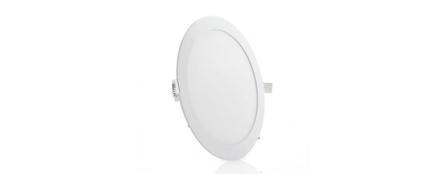 Placas Downlight LED Ultrafinas Circulares