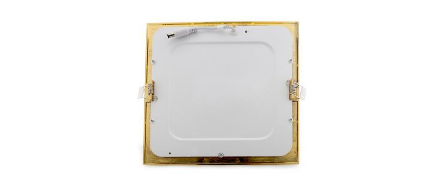 Placas Downlight LED Ultrafinas Rectangulares