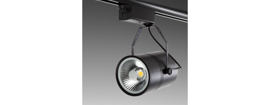 Focos LED para Carril Monofásicos