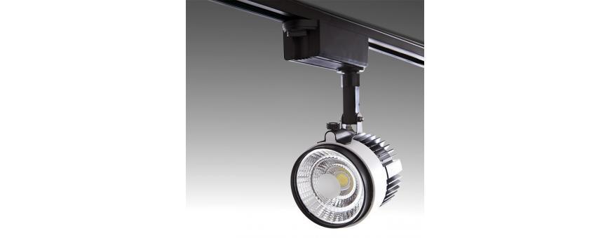 Focos LED para Carril Bifásicos