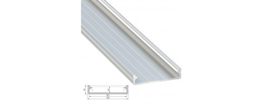 Perfiles Aluminio PRO