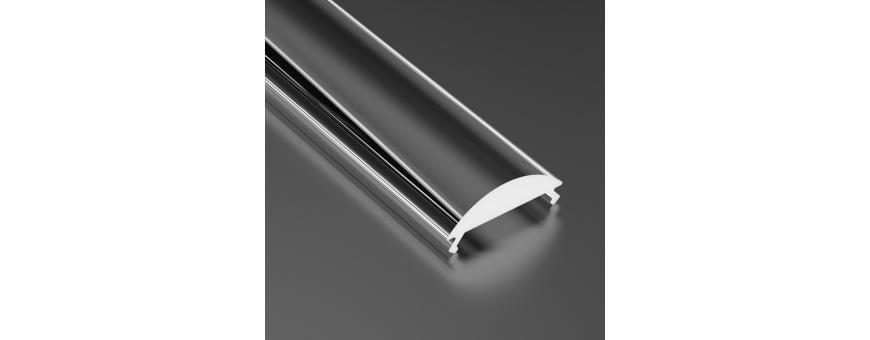Difusores Perfiles Aluminio PRO