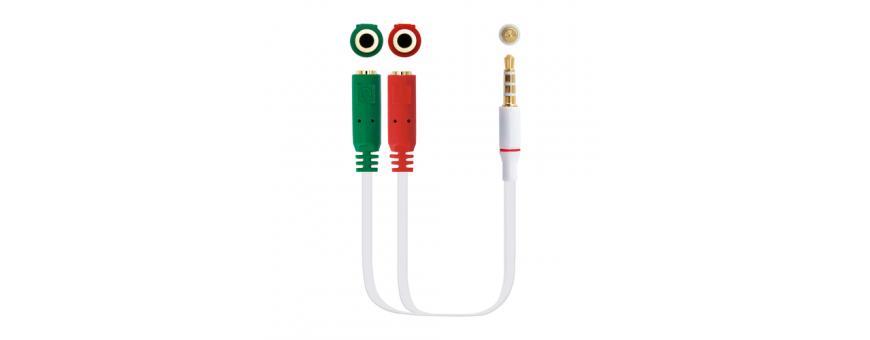 Cables y Adaptadores de Audio
