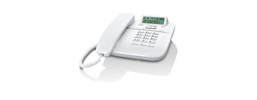 Teléfonos fijos con cable