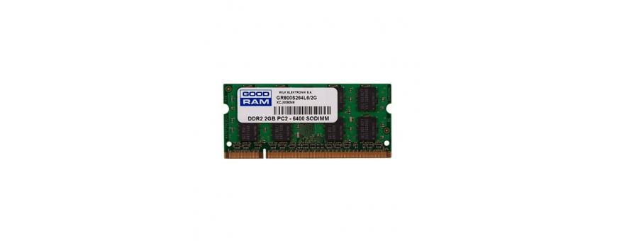 Memorias SO-DIMM DDR2